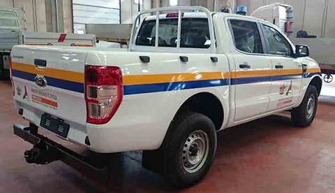 Ford Ranger Protezione Civile