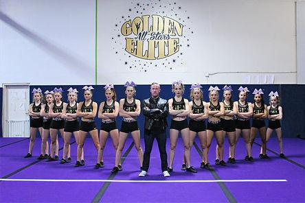 2020-2021 Senior Level 4 Shine Team Picture
