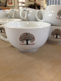 Bespoke decorated mugs and cups