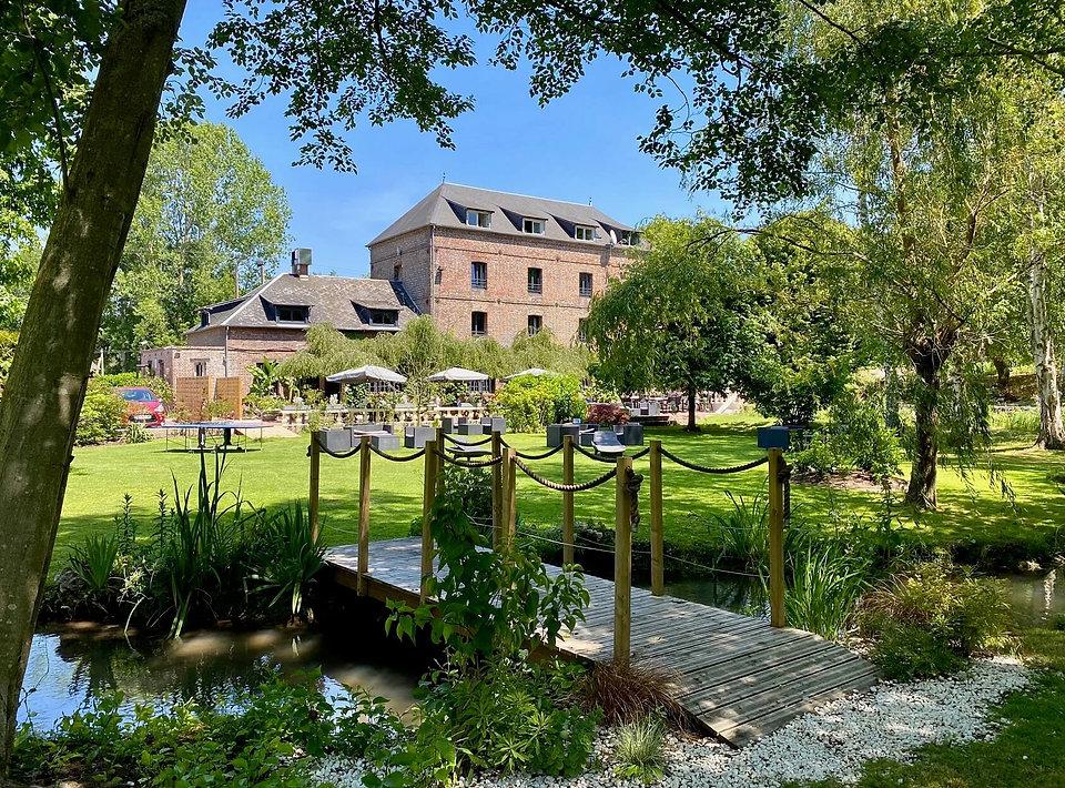 hotel restaurant bernay moulin fouret