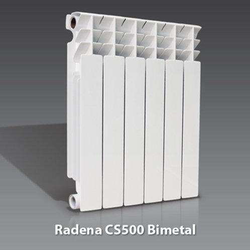 Радиатор биметаллический Radena 500 9 сек