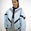 Thumbnail: Sky Blue Quilted - Bomber Jacket