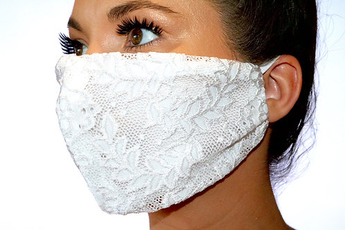 White Lace 2 Face Mask limited edition