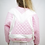 Thumbnail: Pink Quilted - Bomber Jacket