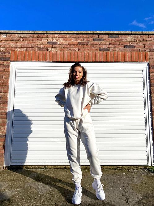 Cream Sweatshirt Jumper Loungewear