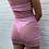 Thumbnail: NEW Pink Sequin Sheer Dress