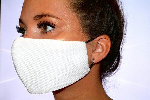 White scuba mesh Face Mask