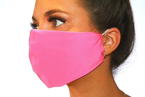 Neon Pink Face Mask