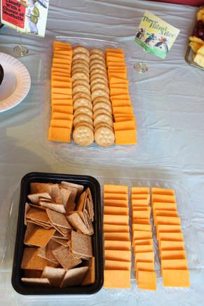 Three Blind Mice Cheese Tray