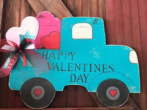 Happy Valentine's Day Truck