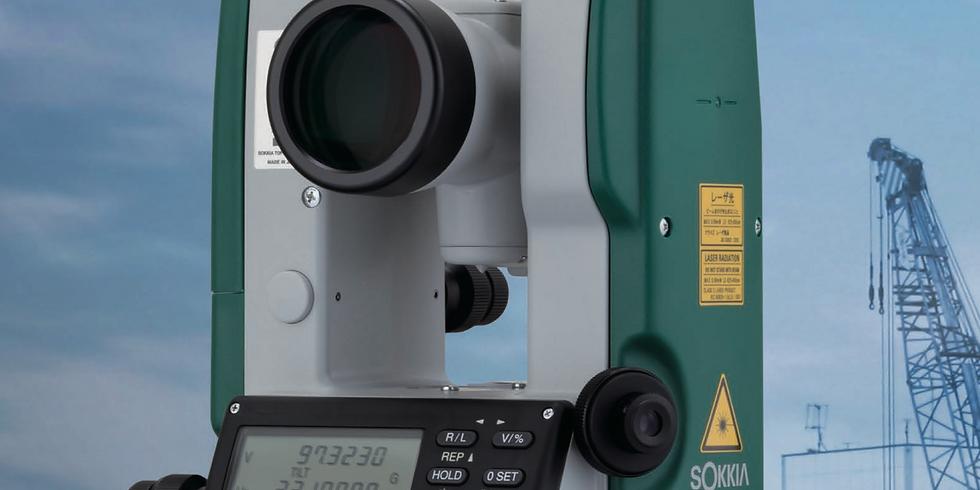 RSTC/5 - EDM Familiarisation for Sokkia Instruments
