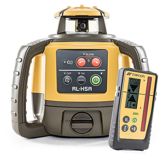 Topcon RL-H5A Self-Leveling Laser with LS-100D Digital Receiver