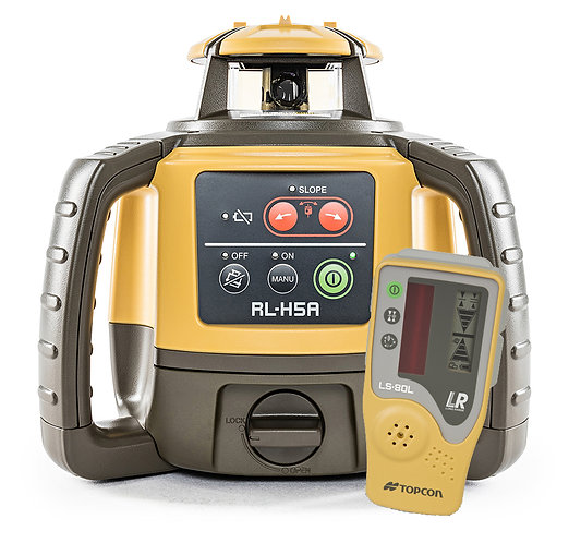 Topcon RL-H5A Self-Leveling Laser with LS-80L Receiver