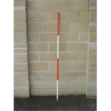 Nedo 2m Construction Ranging Pole (one pole, 2m)