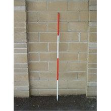 Nedo 2m Construction Ranging Pole (one pole, 2m)
