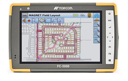 Topcon FC-5000 Field Computer