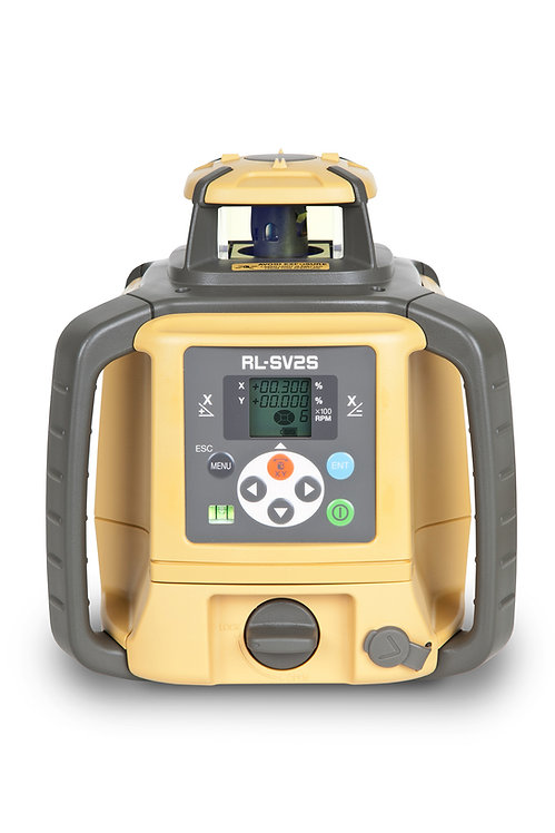 Topcon RL-SV2S Multi-Task Rotating Laser with Laser Receiver