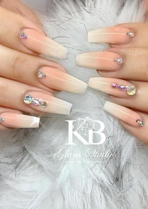 gel nails acrilyc