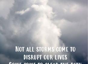 Om stilhed og storm