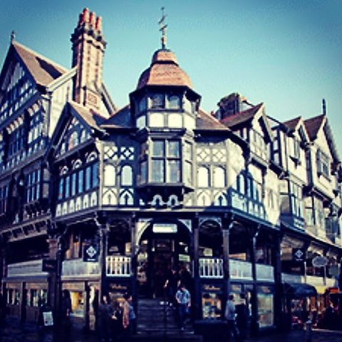 #Chester with its #eclectic #architectur