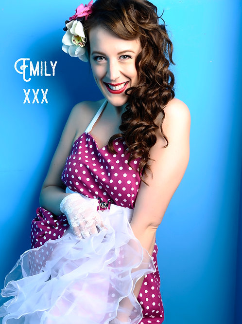 Signed photograph - Emily