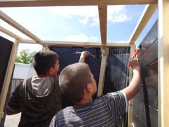 """projet """"la baraca photo"""", labo de développement mobile de sténopé."""