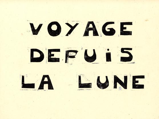 Voyage depuis la Lune - Planche 1