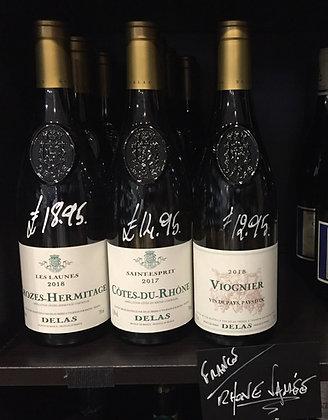 Rhone Vallee wine White