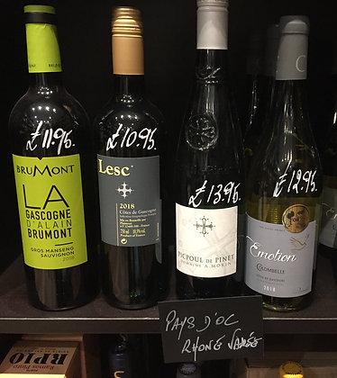 Pays d'oc White Wine