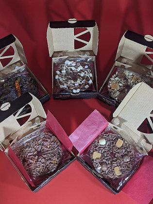 Mini Chocolate Pizza's