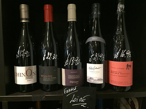 Loire Vallee Red Wine