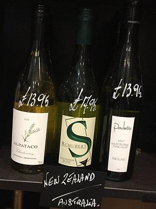 New Zealand/Australian White Wine