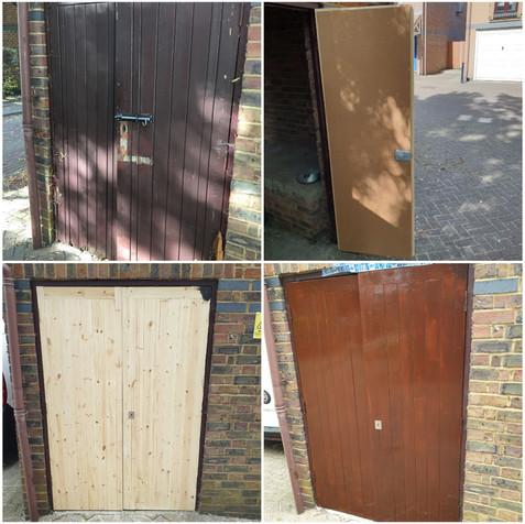 New bin doors