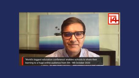 EOF High-Level Steering Group Member Vikas Pota Hosts T4 World Education Week