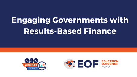 Engaging governments with results-based finance