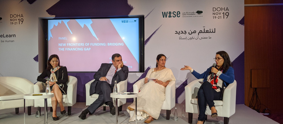 EOF CEO Amel Karboul speaks at WISE 2019