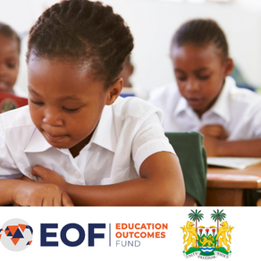 EOF and the Government of Sierra Leone launch partnership to improve education for 100,000 children