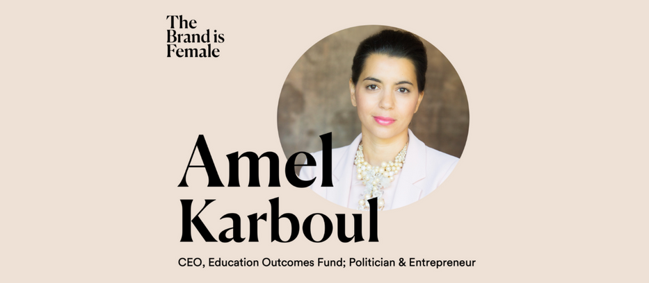 EOF CEO Amel Karboul on The Brand is Female podcast