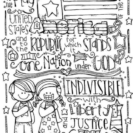 Enter The 1st Annual 4th of July Coloring Contest!