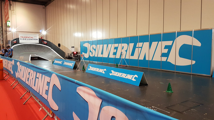 STREETVELODROME AT RIDELONDON WITH SILVERLINE TOOLS