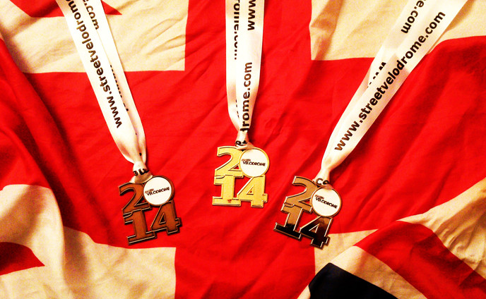 New StreetVelodrome Medals Up For Grabs