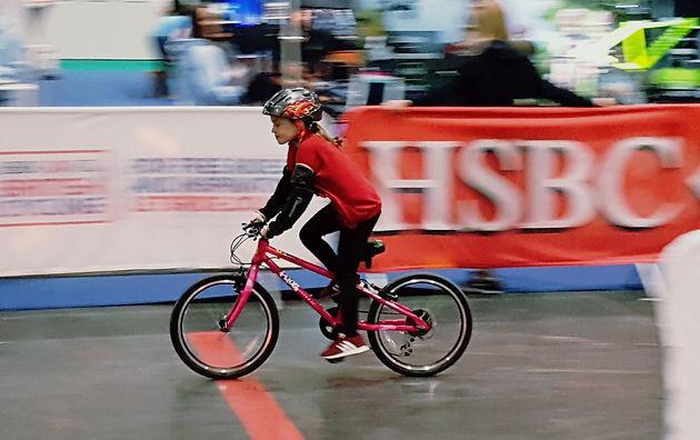 FUN ON TRACK AT LONDON BIKE SHOW WITH HSBC UK BRITISH CYCLING