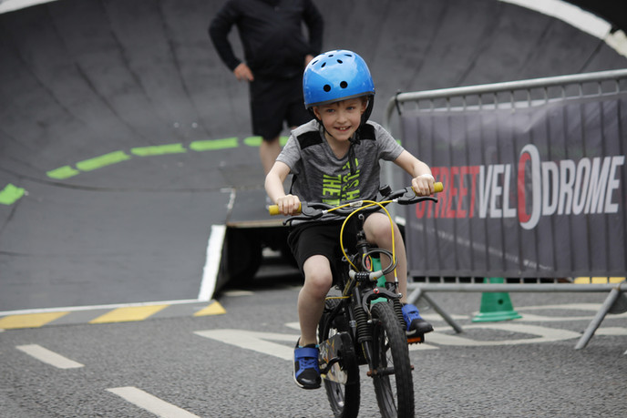 STREETVELODROME IN IRELAND
