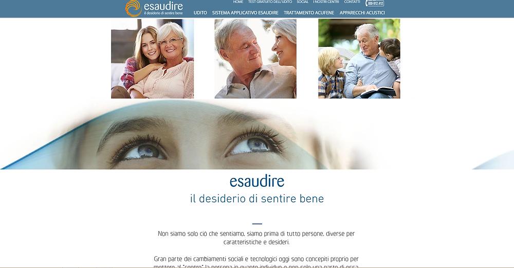 home page esaudire.com