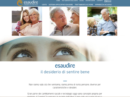 E' on-line il sito internet ESAUDIRE
