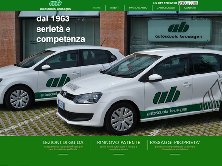 E' on-line il sito internet           AUTOSCUOLA BRUSEGAN