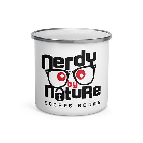 Nerdy Enamel Mug
