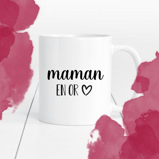 Décalque - Maman / grand-maman / mamie / autres en OR