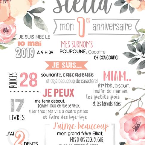 Affiche anniversaire