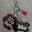 Thumbnail: Porte-clés / Dog mom et chien(s)